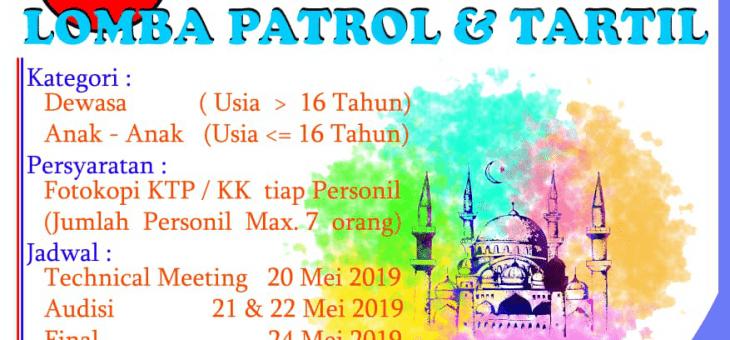 PT. New Minatex Akan Mengadakan Lomba Patrol dan Tartil Ramadhan 1440 H