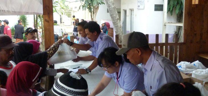 Acara Puncak Baksos 2019 PT. New Minatex Dipadati Warga